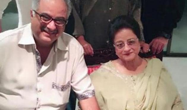 Brothers Boney, Anil and Sanjay shared birthday messages for their mother Nirmal Kapoor.