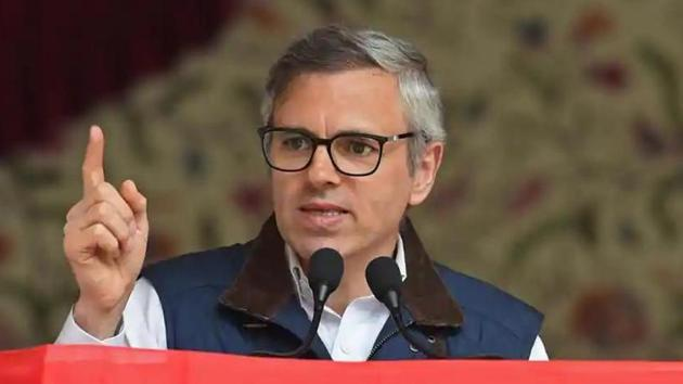Former chief minister of Jammu and Kashmir, Omar Abdullah(File photo)