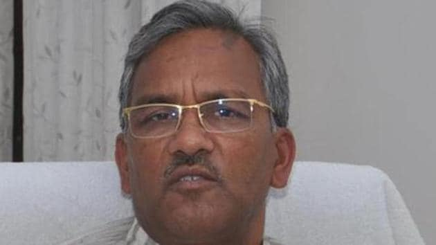 Uttarakhand Chief minister Trivendra Singh Rawat has instructed that the probe should fix accountability for the tragedy.(HT FILE PHOTO)