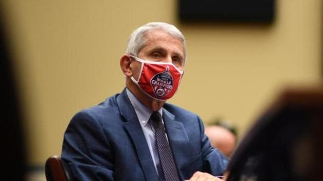 Dr. Anthony Fauci said immunization against SARS-CoV-2 could begin in the US in November or December.(Reuters File Photo)