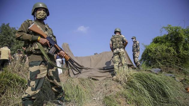 The terrorists retreated to the Pakistani soil following the exchange of fire between BSF personnel and the Pakistan Rangers.(Representational Image)