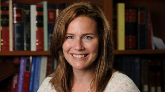 Amy Coney Barrett has been nominated by Trump for the US Supreme Court(via REUTERS)