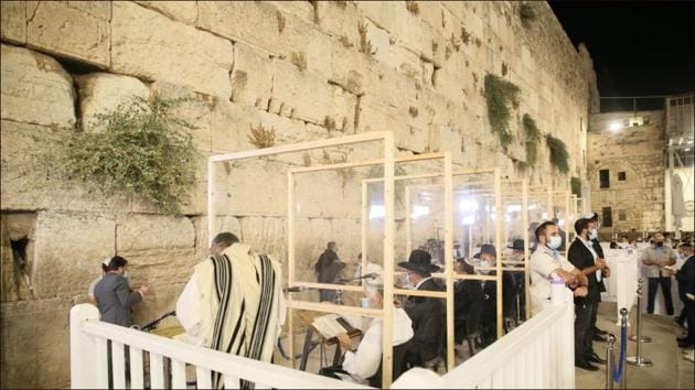 Israel halts festive celebrations on Yom Kippur, the holiest day in the Jewish calendar(Twitter/YiddishNews)