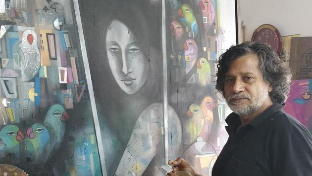 Down the long road: Painter Madan Lal.(Sourced)