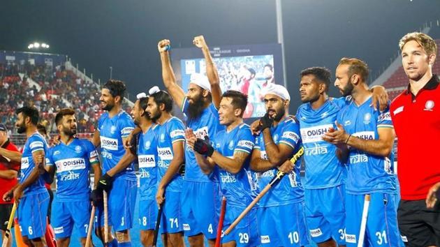 The Indian men's hockey team.(Image Courtesy: Hockey India)