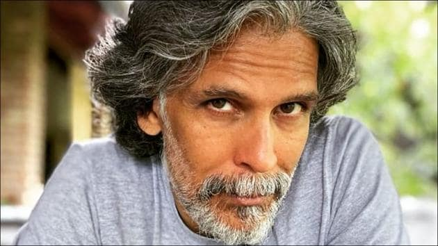 Milind Soman raises the bar of flexibility goals, balances body weight in complex position(Instagram/milindrunning)