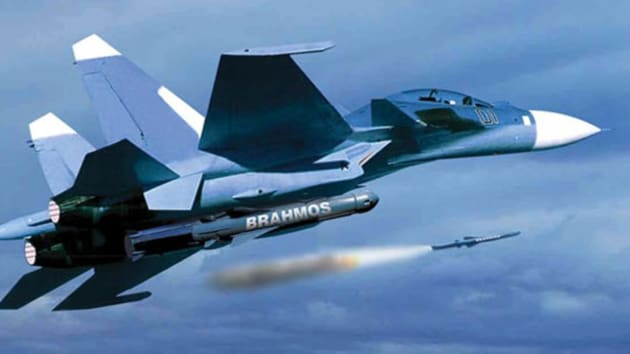 The Indian Air Force has deployed the Brahmos missile in sufficient numbers with the option to deliver the stand-off weapon from a Su-30 MKI fighter(Brahmos.com)