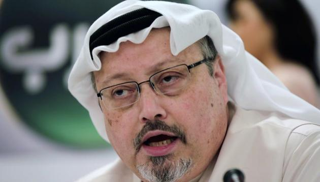 A Saudi court this month jailed eight people for between seven and 20 years for the murder, four months after Khashoggi's family forgave his killers and enabled earlier death sentences to be set aside.(AP file photo)