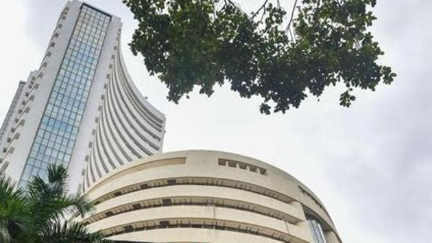 The 30-share index was trading 326.57 points or 0.87 per cent higher at 37,715.23, and the NSE Nifty jumped 96.05 points or 0.87 per cent to 11,146.30.(PTI photo)