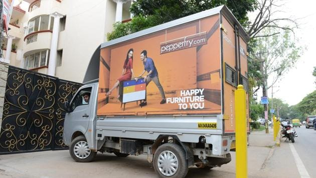 Online furniture retailer Pepperfry says it almost broke even in August.(Hemant Mishra/Mint File Photo)