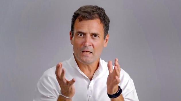 Congress leader Rahul Gandhi.(PTI)