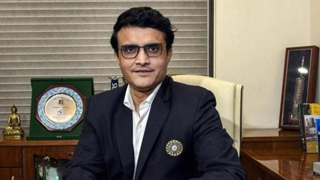 BCCI President Sourav Ganguly.(PTI)