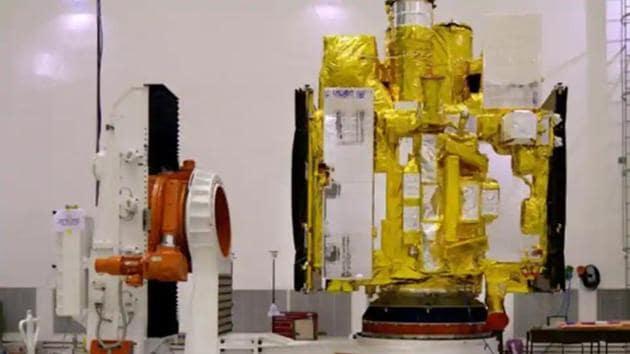 AstroSat.(Imgae cortesy: isro.gov.in)