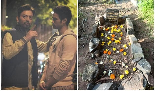 Babil Khan reassured fans that waste and plastic were always cleaned from Irrfan Khan's grave site.