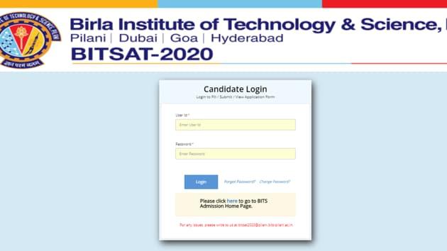 BITSAT score card 2020.(Screengrab)