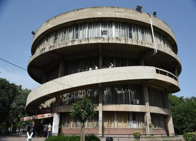 A special panel constituted for the austerity measures to curtail the spending has already made several recommendations to the university.(HT FILE PHOTO)