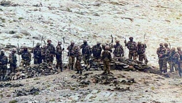 It is a contest between a volunteer Indian Arny and conscript PLA. Karakoram winters will decide the outcome.(File photo)