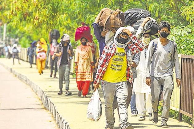 The ability to achieve impact at scale has enabled CSOs to reach millions of people, including those often left behind in standardised relief efforts(Sanchit Khanna/HT PHOTO)