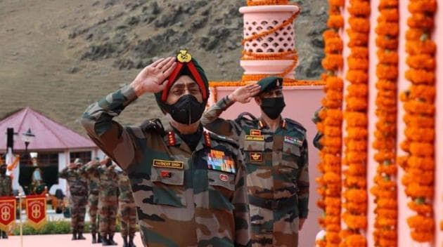 Lieutenant General Harinder Singh led six rounds of military talks with China recently.(INDIAN ARMY.)