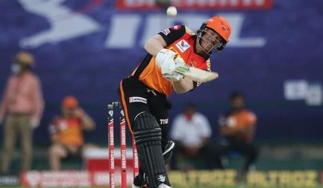 Photo of David Warner batting against Delhi Capitals(IPL/Twitter)