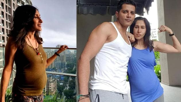 Teejay Sidhu and husband Karanvir Bohra are expecting their third child.