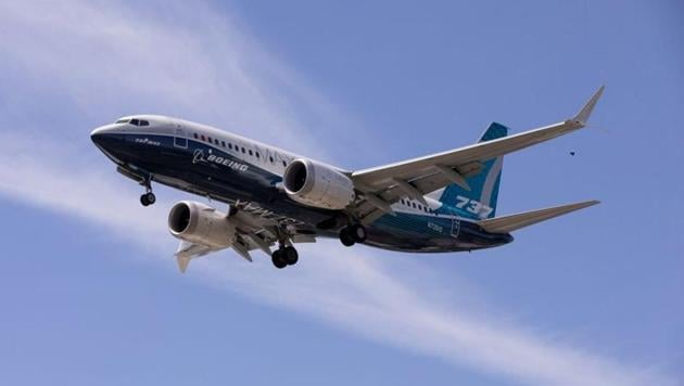 A Boeing 737 MAX airplane lands after a test flight at Boeing Field in Seattle, Washington, U.S. June 29, 2020. (Representational)(FILE PHOTO REUTERS)