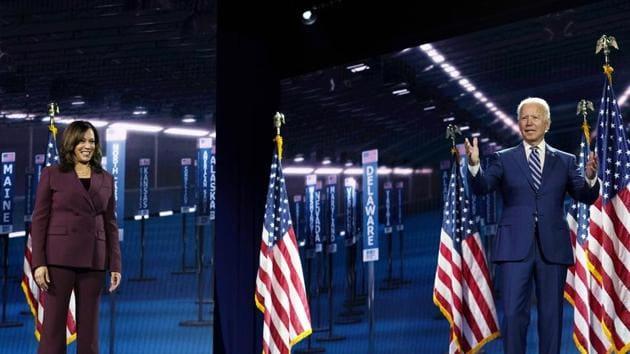 Kamala Harris is set to debate Vice President Mike Pence next week.(AP)