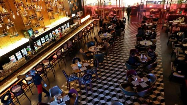 Hotels, food courts, restaurants and bars will be allowed to operate from October 5 with 50% capacity, the Maharashtra government said.(Reuters file photo. Representative image)
