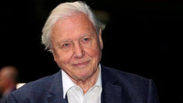 Broadcaster and film maker David Attenborough.(REUTERS FILE PHOTOS)
