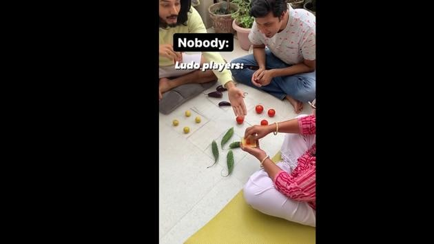 DIY Ludo, what do you think about it?(Instagram/@rjabhinavv)