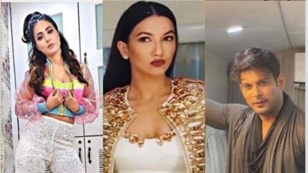 Bigg Boss 14 premiere first look: Hina Khan, Gauahar Khan, Sidharth Shukla share pics.