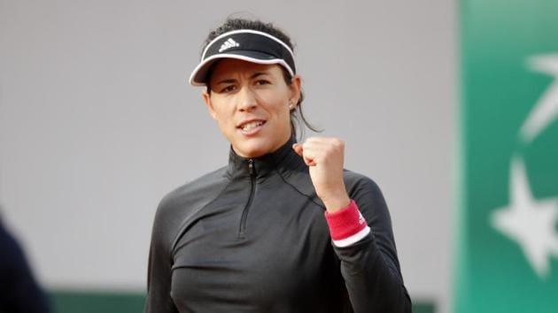 Tennis - French Open - Roland Garros, Paris, France - October 1, 2020 Spain's Garbine Muguruza celebrates winning her second round match against Czech Republic's Kristyna Pliskova REUTERS/Charles Platiau(REUTERS)