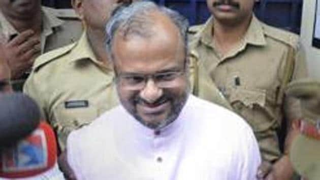 Rape accused Roman Catholic Bishop Franco Mulakkal is being tried in a court in Kottayam.(PTI)