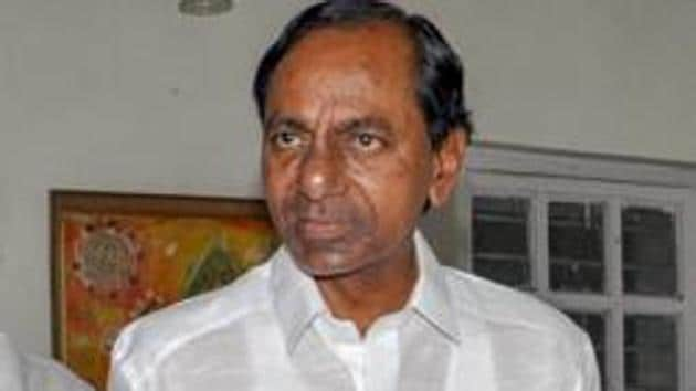 Telangana Chief Minister K Chandrashekhar Rao has accused the Centre of not doing anything to solve his state's river water dispute with Andhra Pradesh.(PTI)