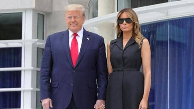 US President Donald Trump and first lady Melania Trump have tested Covid-19 positive.(Reuters File Photo)