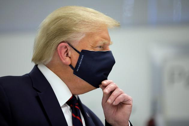 US President Donald Trump was tested positive for Covid-19 on Friday(REUTERS)