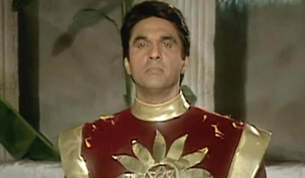 Mukesh Khanna played Shaktimaan in the superhit series of the same name.