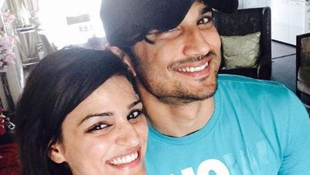 Sushant Singh Rajput with his US-based sister Shweta Singh Kirti.