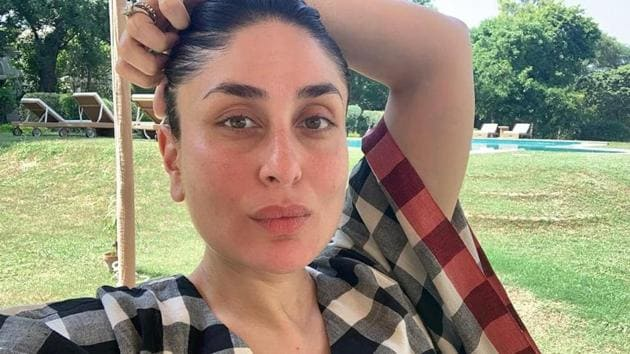 Kareena Kapoor has shared a new picture in her kaftan series.