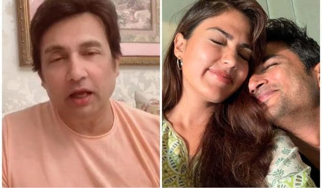 Shekhar Suman raised questions about the credibility of the news report claiming Sushant Singh Rajput met Rhea Chakraborty on June 13.