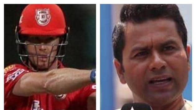 Jimmy Neesham and Aakash Chopra(HT Collage)