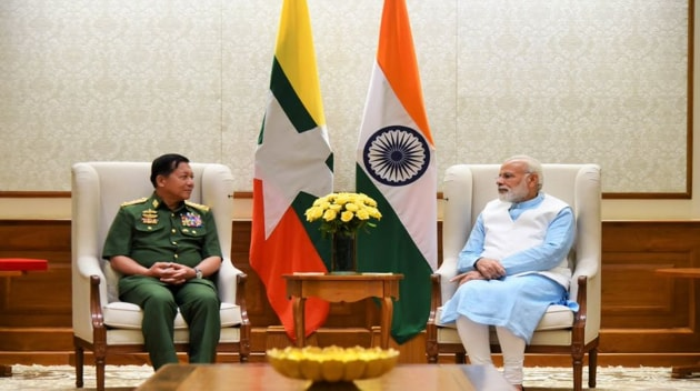 India believes that close ties with Myanmar are a key to development for its northeast region.