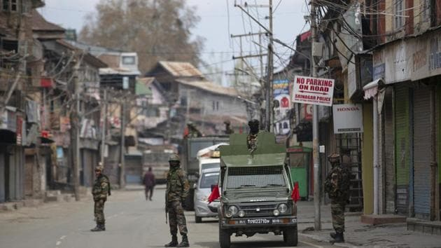 The army admitted its soldiers in Kashmir exceeded their legal powers in the killings of three locals in Rajouri.(Representational Image)