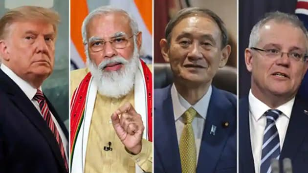 India is not averse to institionalising the Quad dialogue that seeks to establish, promote and secure Indo-Pacific principles, particularly against the backdrop of China's aggressive moves(Agencies)