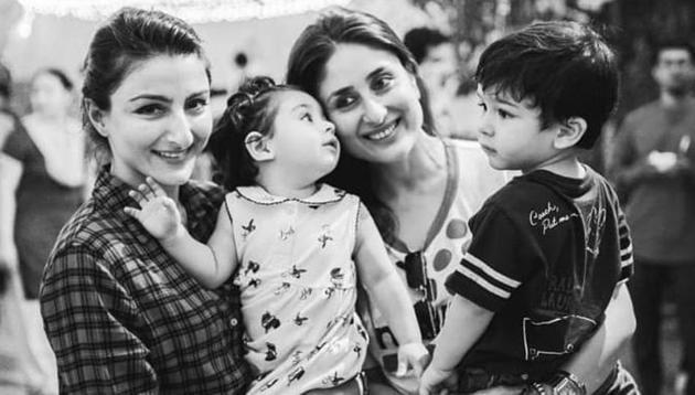 Kareena Kapoor has shared an adorable picture on Soha Ali Khan's birthday.