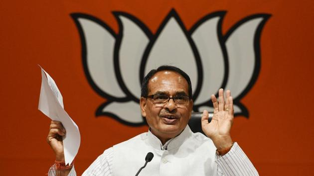 Chief Minister Shivraj Singh on Saturday revoked his government's earlier restriction on the scale of celebration during the festive season.(HT FILE PHOTO)