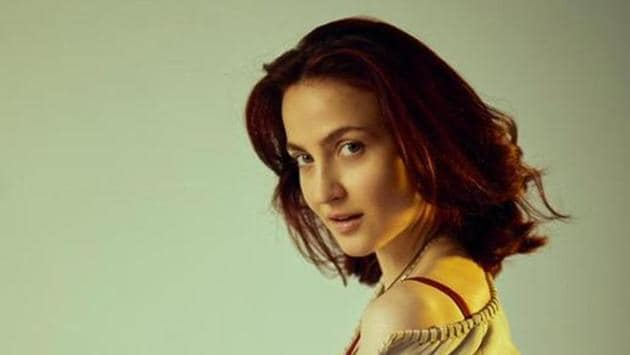 Actor Elli AvrRam shot for an upcoming web project in Dubai recently