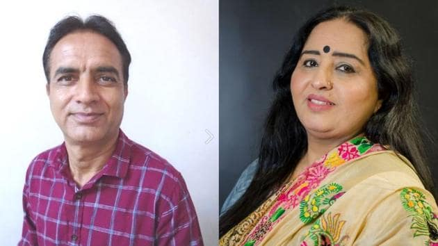 Sirsa-based writer Kesra Ram has won the Dhahan Prize for excellence in Punjabi fiction for his collection of short stories, Zanani Paud, while British Columbia's Harkirat Kaur Chahal has been selected as the finalist of the Gurmukhi script category for her novel, Aadam Grehan. She is the first woman author to have won the Dhahan Prize for her groundbreaking novel.(Dhahan Prize FB page)