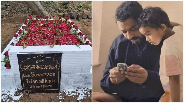 Irrfan Khan's son Babil is missing him a lot.