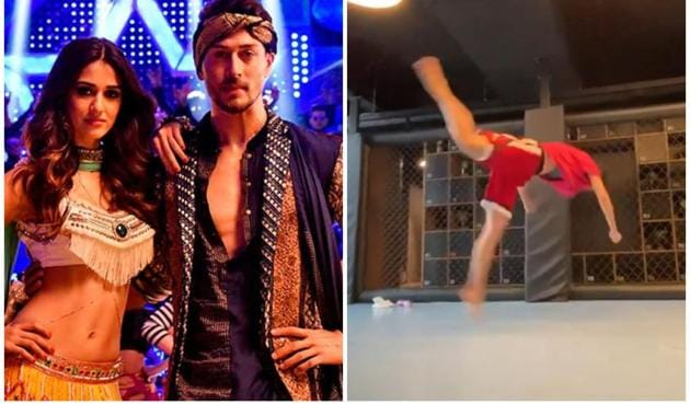 Tiger Shroff complimented Disha Patani on her 'clean' butterfly kick.